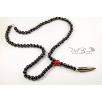 Rosary and Bullet necklace